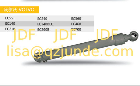 volvo hydraulic cylinder excavator spare part EC460 boom , arm ,bucket , construction