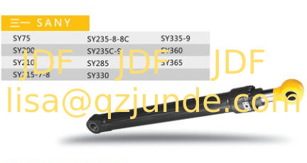 SANY hydraulic cylinder excavator spare part SY360 boom , arm ,bucket , construction