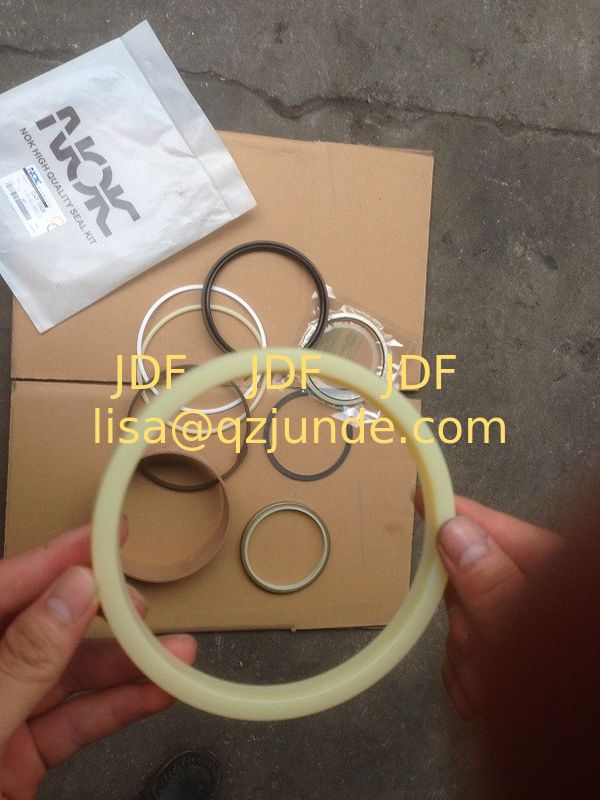 SH265 seal kit, earthmoving attachment, excavator hydraulic cylinder rod seal Sumitomo